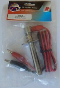 JP Wired Glow Starter Clip (Long Steel Lock On) NEW 5508114