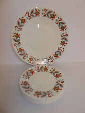 Queen Anne Bone China Cake Plate and 5 x Side Plates Lovely