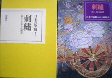 Used Japan textiles separate volume 2 Embroidery book 1978 From JAPAN
