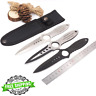 Stainless Steel Blade Small Straight Knife  EDC Tools Fixed Diving Knife Pocket