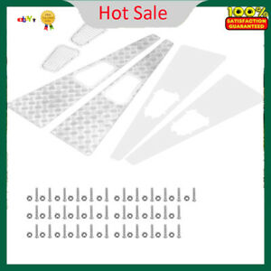 Metal Anti-skid Plate Intake Grille RC Parts for Traxxas TRX-4 1:10 Scale RC Car
