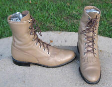 JUSTIN    COWGIRL   BOOTS   LADIES    6'B