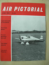 AIR PICTORIAL MAGAZINE JUNE 1960 A REFITTED G-AJCP
