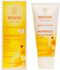 Crème Apaisante au Calendula pour le Change de Bébé WELEDA 75ml Tube /EBUI