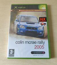 XBOX COLIN MCRAE RALLY 2005 NUOVO NEW PAL ITALIANO SIGILLATO