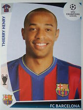 Panini 361 thierry henry fc barcelona uefa cl 2009/10