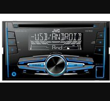 JVC kw-r520 Doppio Din Auto Radio Stereo Cd mp3 USB AUX IN NUOVO Audio