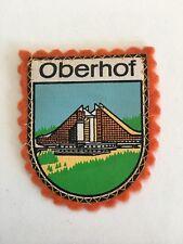 Vintage German Souvenir Patch Overbid Germany