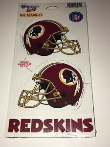 Washington Redskins Pack Of 3 NFL Magnet Wincraft Sports Officially Licensed