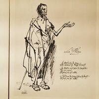 🌓 VERHAEREN / NAUDIN | Le Fléau | Ex. unique Japon Impérial lettre autographe