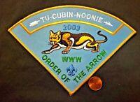 TU-CUBIN-NOONIE OA LODGE 508 UTAH NATIONAL PARKS COUNCIL 2003 PIE JACKET PATCH