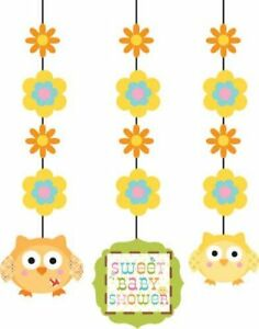Baby Shower Hanging Cutouts Happi Tree 3 Pack Party