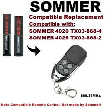 Sommer 4026 TX03-868-2, 4020 compatible TX03-868-2 remote control
