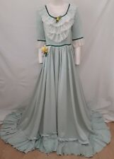 Civil War Southern Belle Costume Long Dress Festival Wench Medieval Maiden S M