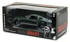 Model Car 1968 Ford MUSTANG Gt Scale 1:24 From Film Bullitt GREENLIGHT Original