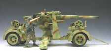 King & Country WS57 (WS057) 88mm Gun King and Country NEVER OPENED, Mint in Box!