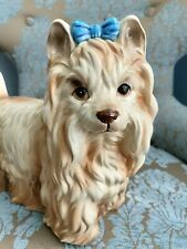 """The Kennel Club by Shafford 11"""" Yorkshire Terrier Dog Statue Figurine, Adorable"""
