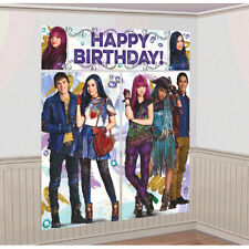 Disney Descendants 2 Wall Poster Decoration Kit Scene Setter Birthday Supplies