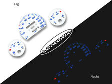 LETRONIX Plasma Tacho Tachoscheiben EL-Dash Opel Corsa B o DZM 0-200Kmh