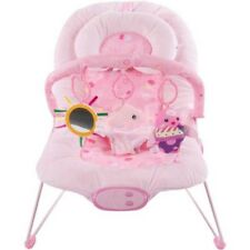 Pink Superior Plush Fish Vibrating Baby Bouncer, Baby Rocker Bouncy chair – UK