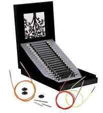 KnitPro Karbonz Interchangeable Knitting Needle Set Box of Joy + free gift!