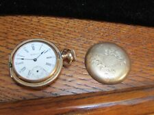 Watch Hunting Case Rose Gold Filled Antique Am. Waltham Ladies Royal Pocket