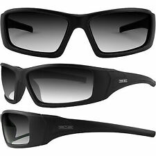 Epoch 3 Eyewear Motorcycle Sport Sunglasses Black Frame Photochromic Lens