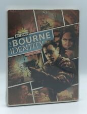 Bourne Identity, The (Blu-ray+DVD+Digital, 2014; Limited Edition Steelbook) NEW