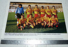 CLIPPING POSTER FOOTBALL 1988-1989 CLUB SPORTIF CUISEAUX-LOUHANS CSCL