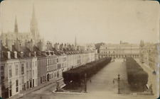 France, Nancy, Place de la Carrière, vue générale, ca.1880, Vintage albumen prin