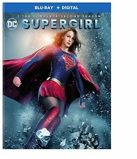 Supergirl: The Complete Second Season 2 (U.S. Blu-ray Disc, 4-Disc Set) NEW