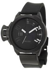 Welder by U-Boat K24 Black Ion Plated Steel Quartz Rubber Men's Watch K24-3100