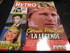 """RETRO N°14"" Claude FRANCOIS, Dorothee, Elvis PRESLEY, Abba, Jeanne MOREAU"