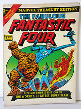 "Marvel comics treasury édition ""FANTASTIC FOUR"" 1974"