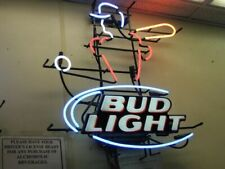 "New Bud Light Baseball Beer Bar Neon Light Sign 24""x20"""