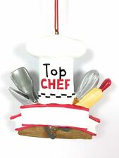 Top Chef Cooking or Restaurant Christmas Tree Ornament Cannon Falls