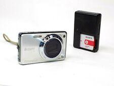 Sony Cybershot Silver 12.1MP Digital Camera DSC-W290 Works