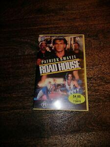 VHS Roadhouse Ex Rental Big Box rare Patrick swazye