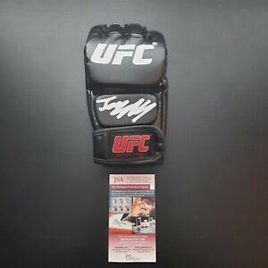 Jorge Masvidal Signed Autographed UFC MMA Glove JSA Witnessed COA