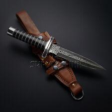 CUSTOM HANDMADE RARE DAMASCUS STEEL DAGGER KNIFE,TACTICAL DAGGER,HUNTING DAGGER