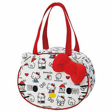 SKATER HELLO KITTY BIG FACE COLD STORAGE LUNCH BAG S29597