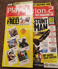 OFFICIAL UK TIPS PLAYSTATION 2 MAGAZINE ISSUE 3*PRO BMX 2 *STUNT MAN *TUROK TIPS