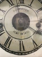 Civil war clock-Incredible 19th Century Clock