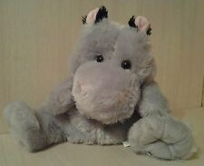 "Rhinocerous Hand  Puppet Full Body Plush 10"" stuffed animal"