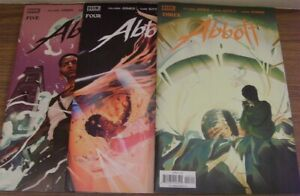 ABBOTT 3 4 5 BOOM COMIC LOT SALADIN AHMED SAMI KIVELA JASON WORDIE 2018 NM