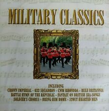 NEW SEALED - MILITARY CLASSICS - Brass Marching Band Music CD Album