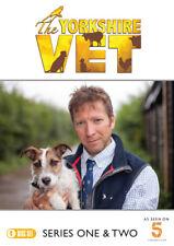 The Yorkshire Vet: Series 1 & 2 DVD (2018) Melanie Darlaston cert E 4 discs