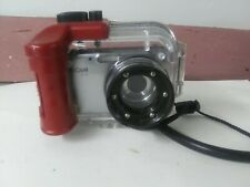 Intova IC-12 Digital Camera + Waterproof Housing - (Black)