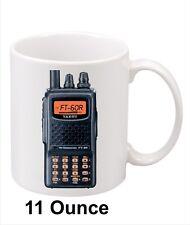Yaesu FT-60R HT Amateur Radio Coffee Mug. 11oz. Nice gift for Hams!