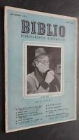 Rivista Biblio Andre Gide Mars 1951 N°3 ABE